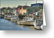 Harbor Living Greeting Cards - Empty Pockets Greeting Card by Brenda Giasson