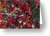 Color Painting Greeting Cards - Enamel 1 Greeting Card by James W Johnson