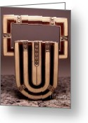 Art Deco Jewelry Jewelry Greeting Cards - Enamels 54 Greeting Card by Dwight Goss