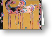 Abstract Realism Painting Greeting Cards - Enchanted Greeting Card by Bob Coonts