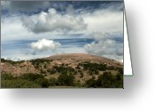 Nature Photographs Greeting Cards - Enchanted Rock Rocks Greeting Card by Karen Musick