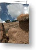 Nature Photographs Greeting Cards - Enchanting Rocks Greeting Card by Karen Musick
