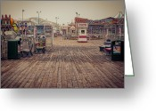 Ghost Town Greeting Cards - End of Summer Greeting Card by Heather Applegate