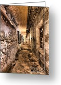 Brick Greeting Cards - Endless Decay Greeting Card by Andrew Paranavitana