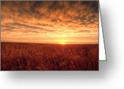 Hail Photo Greeting Cards - Endless Oz Greeting Card by Thomas Zimmerman