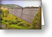 Lewistown Greeting Cards - Endurance of Time I Greeting Card by Corrie Knerr