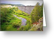 Lewistown Greeting Cards - Endurance of Time II Greeting Card by Corrie Knerr