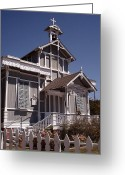 Cape May Nj Photo Greeting Cards - Enduring Faith Greeting Card by Gordon Beck