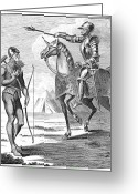 Archer Greeting Cards - England: Archer And Armor Greeting Card by Granger