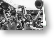 Soccer Stadium Greeting Cards - England: Fa Cup, 1977 Greeting Card by Granger