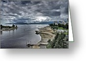 Ceek Greeting Cards - English Bay Greeting Card by Scott Holmes
