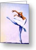Performer Greeting Cards - Enjoy the Dance Greeting Card by Jerome Lawrence