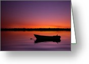 Puerto Rico Greeting Cards - Enjoying Serenity Greeting Card by Carlos Gotay