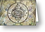 Ptolemaic Greeting Cards - Enlightened 1 Greeting Card by Angelina Vick