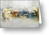 Abstract Prints Greeting Cards - Enough is Enough  Greeting Card by Michel  Keck