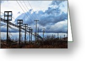 Buffalo New York Greeting Cards - Entangled2 Greeting Card by Peter Chilelli