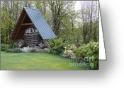 Shelton Greeting Cards - Entering Shelton Greeting Card by Terri Thompson