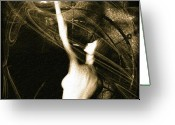 Photography Greeting Cards - Entities Touch Greeting Card by Bob Orsillo