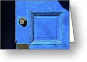 Wood Photo Greeting Cards - Entrance to Babylon Greeting Card by Bob Orsillo