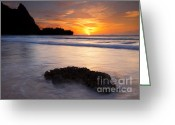 Tunnels Greeting Cards - Enveloped by the Tides Greeting Card by Mike  Dawson