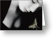Edgy Greeting Cards - Ephemeral Greeting Card by Pat Erickson
