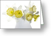Flowers Greeting Cards - Ephifany Greeting Card by Rebecca Cozart