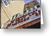 The Love Letter Greeting Cards - Ephrata Main Theatre Greeting Card by Christopher Kulfan