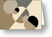 Equilibrium Greeting Cards - Equilibrium Greeting Card by Mark Greenberg