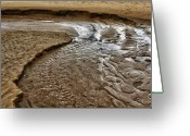 Caen Greeting Cards - Erosion Greeting Card by Jason Wolters
