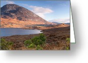 Klarecki Greeting Cards - Errigal Greeting Card by Pawel Klarecki