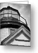 Village Church Greeting Cards - Established in 1746 - black and white Greeting Card by Hideaki Sakurai