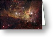 Carina Nebula Greeting Cards - Eta Carinae Nebula Greeting Card by Robert Gendler