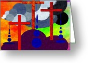 Biblical Greeting Cards - Eternal Consequences Greeting Card by Glenn McCarthy Art and Photography