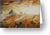 Ancient Tomb Greeting Cards - Eternity Greeting Card by Richard Barham