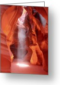 Canyon Greeting Cards - Ethereal Greeting Card by Winston Rockwell