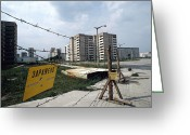 Ost Photo Greeting Cards - Evacuated Town Near Chernobyl, Ukraine Greeting Card by Ria Novosti