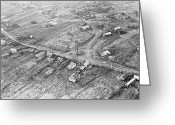 Ost Photo Greeting Cards - Evacuated Village Near Chernobyl Greeting Card by Ria Novosti