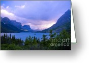 Wild Goose Greeting Cards - Evening at St. Marys Greeting Card by Idaho Scenic Images Linda Lantzy
