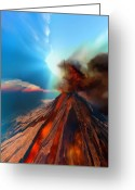 Catastrophe Greeting Cards - Event Horizon Greeting Card by Corey Ford