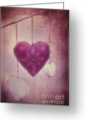 In Love Greeting Cards - Ever And Anon Greeting Card by Priska Wettstein
