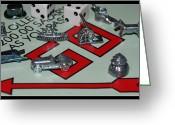 Monopoly Digital Art Greeting Cards - Everyone Pass Go Greeting Card by Rob Hans
