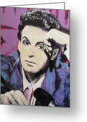 Paul Mccartney Greeting Cards - Evolution of Paul McCartney Greeting Card by Eric Dee