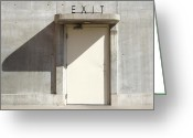 Exit Greeting Cards - Exit Greeting Card by Mike McGlothlen