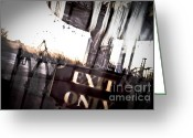 Beautiful Image Greeting Cards - Exit Only Greeting Card by Pixel Perfect by Michael Moore
