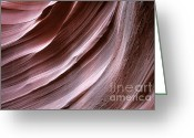 Canyon Walls Greeting Cards - Experience for all senses Greeting Card by Christine Till