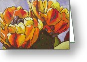 Arboretum Greeting Cards - Explosion of Color Greeting Card by Sandy Tracey