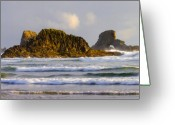 Oregon Greeting Cards - Eye of the Storm Greeting Card by Mike  Dawson