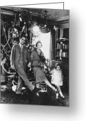 Scott Greeting Cards - F. Scott Fitzgerald Family Greeting Card by Granger