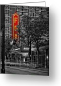 Fabulous Greeting Cards - Fabulous FOX Theater Greeting Card by Doug Sturgess