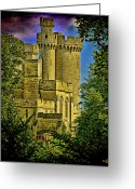 Battlement Greeting Cards - Fairy Tales Can Come True Greeting Card by Chris Lord